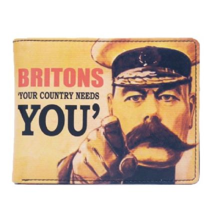 Britons 'Your Country Needs You' Wallet